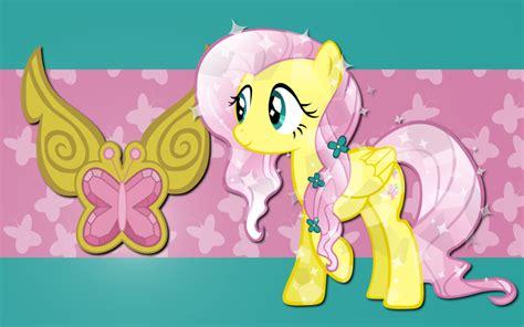 crystal fluttershy   pony friendship  magic