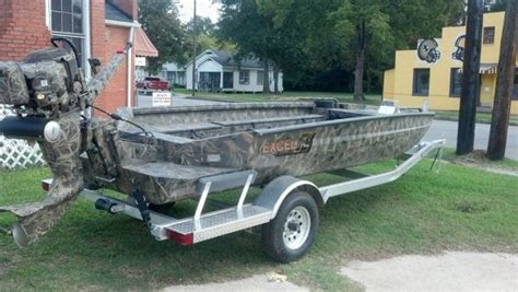 excel boats louisiana 2014 excel 1751swf4 duck boat for sale in louisiana