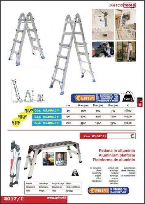 pedane per scale spin attrezzature e prodotti per autofficine