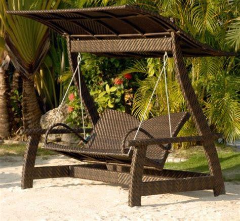 rattan garden swing ingarden rattan garden swing seat weatherproof wicker