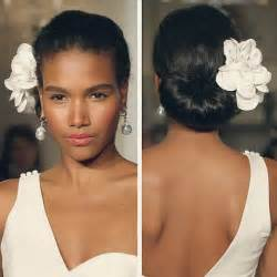 pics of black clip on hairstyle updo wedding hairstyle for black women with silky wavy
