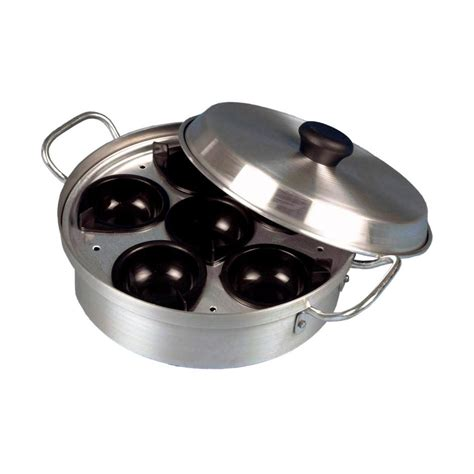 Fry Pan Egg Poacher 6 Holes 6 egg poacher noble express