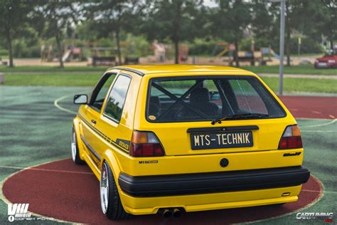stanced volkswagen golf stanced volkswagen golf mk2 rear