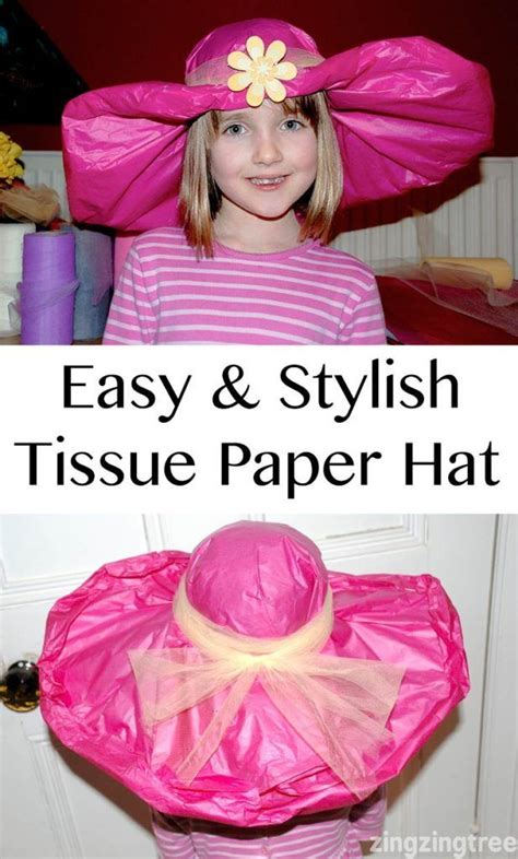 How To Make Tissue Paper Hats - 17 best ideas about tissue paper on tissue