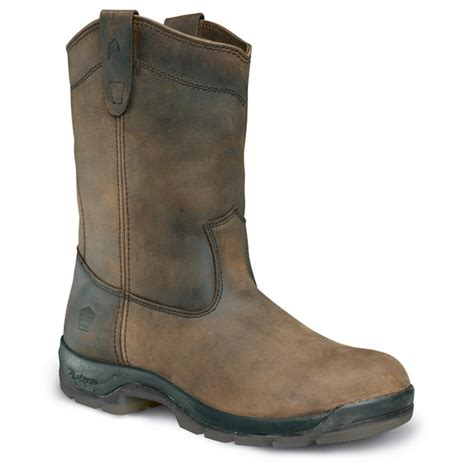 comfort boots men s lacrosse 174 11 quot wellington quad comfort hd work boots
