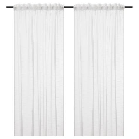 Myrten 01 Net Curtains 1 Pair White trendy modern sheer curtains 41 modern sheer curtains images white eulanguages