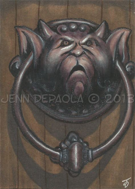 Labyrinth Door Knocker by Knocker 1 Labyrinth By Jenndepaola On Deviantart
