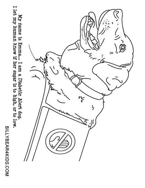 coloring pages of service dogs service dog coloring pages coloring coloring pages