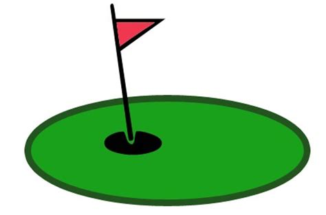 golf clipart golf putting green clipart