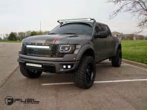 supercars show 2014 ford f 150 raptor on fuel road