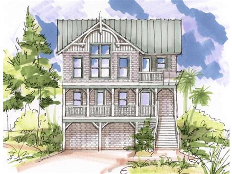 beach house plans for narrow lots plan 041h 0099 find unique house plans home plans and