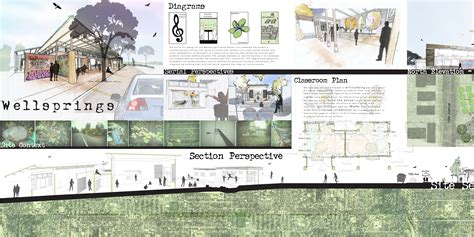 architecture design presentation layout wellspringsdesign adam daniele kylee reflections