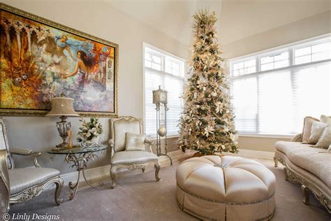 luxury homes decorated for christmas christmas home decor linly designs