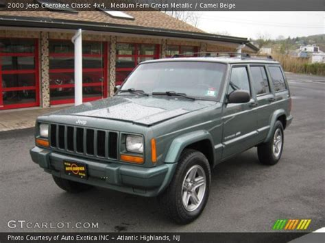 2000 green jeep medium fern green metallic 2000 jeep