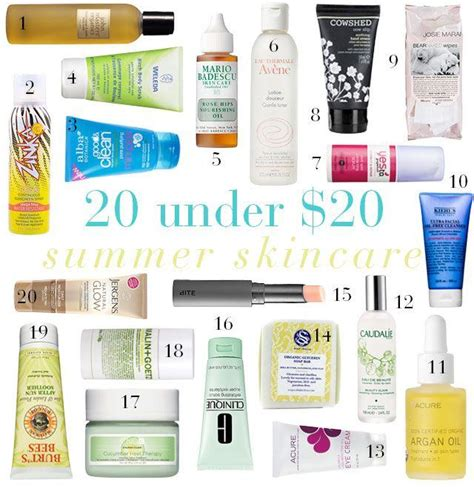8 Great Skin Care Products by Summer Kin Care Essentails 20 Musely
