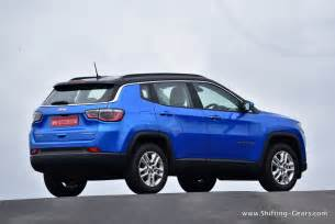 Jeep Compass Back 2017 Jeep Compass Suv Test Drive Review Shifting Gears