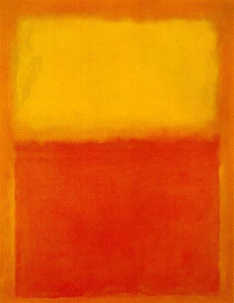 orange painting orange and yellow 1956 mark rothko wikiart org