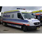 NSWPF Rescue And Bomb Disposal Unit Mercedes Benz