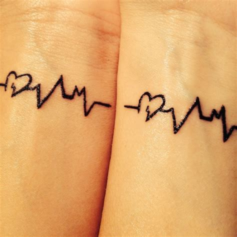 best friend heart tattoos designs 55 best friend tattoos amazing ideas