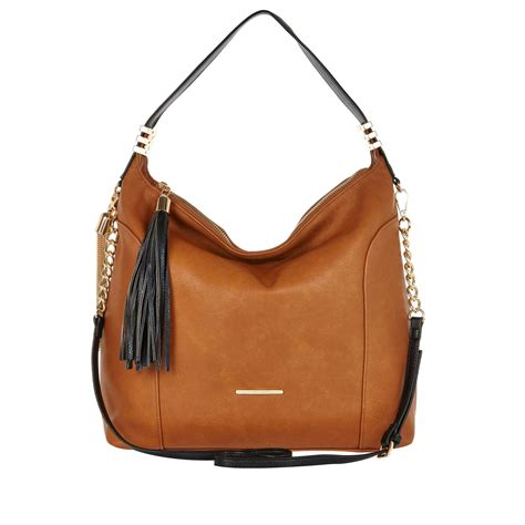 Slouch Bag by River Island Brown Tassel Trim Slouch Bag In Brown Lyst