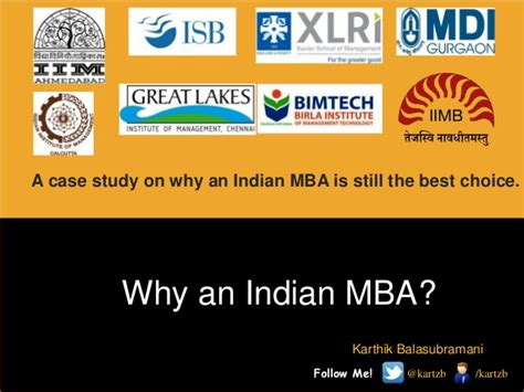 Study Based Mba In India by Why An Indian Mba Is Still A Choice Study