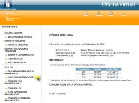 formulario 110 como llenar formulario dependientes bolivia impuestos formulario 110 facilito manual de uso bolivia impuestos