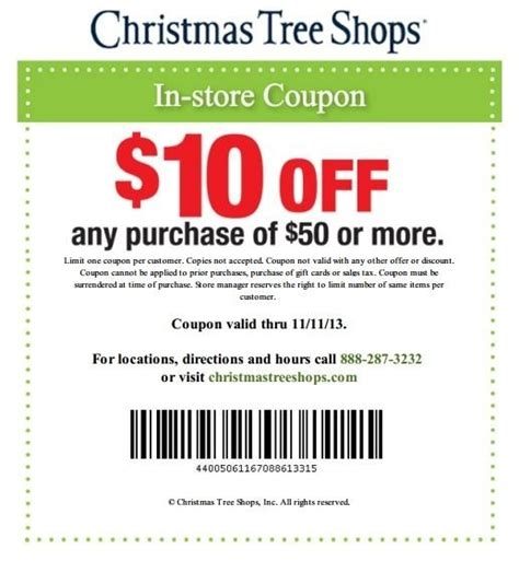 christmas tree shop coupons 20 off fishwolfeboro