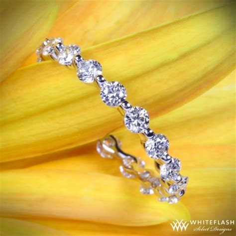 Dainty Diamond Wedding Bands