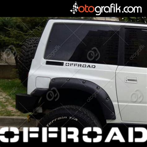 offroad digit oto sticker set otografik