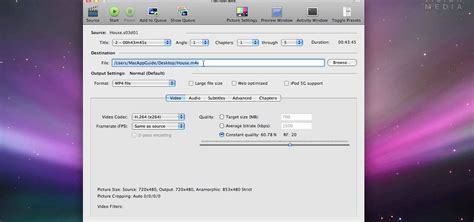 format dvd mac os x how to rip dvds in mac os x with handbrake 171 software tips