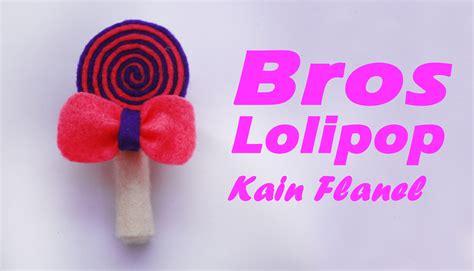 cara membuat whipped cream dari flanel cara membuat bros lolipop dari kain flanel