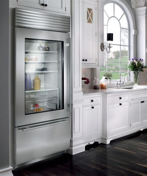 Glass Front Refrigerator For Home by Glass Door Refrigerators Tips For A Transparently Brilliant Home Decor Advisor