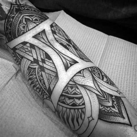 tribal gemini tattoos for guys 60 gemini tattoos for zodiac ink design ideas