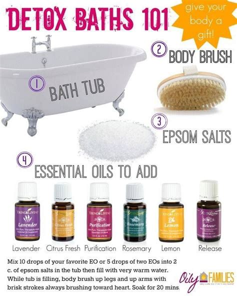Detox Herbal Bath Recipe by 106 Best Images About Essential Oils Home
