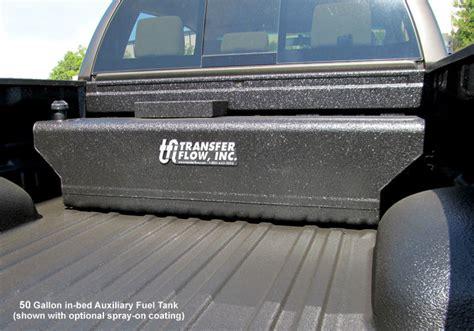 truck bed fuel tank in bed fuel tanks transfer flow inc aftermarket fuel