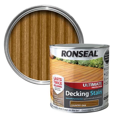 ronseal ultimate country oak matt decking stain