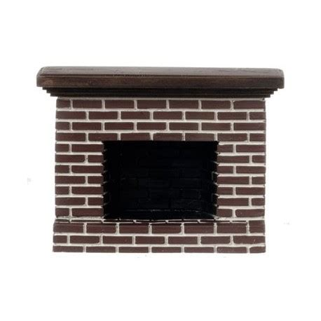 Small Brick Fireplaces by Small Brick Fireplace Dollhouse Miniature Fireplaces