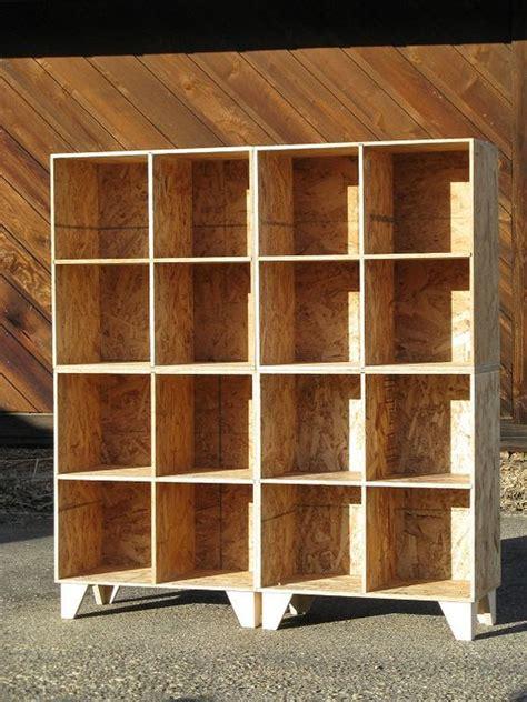 cubby bookshelves handmade modular cubby bookshelves made of oriented
