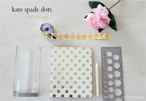 printable clear sticker paper officeworks how to diy kate spade dots diy decorator