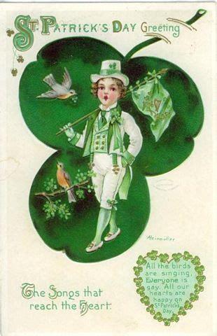 vintage s day vintage st patricks day postcards archive 187 free