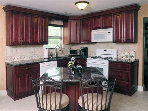 red mahogany kitchen cabinets mahogany maple kitchen cabinates photos pictures