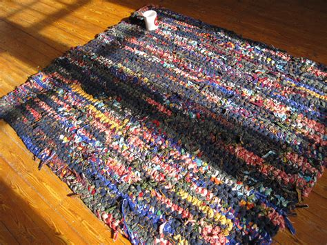 crocheting rag rugs portland diy pendleton crochet scrap wool rag rugs
