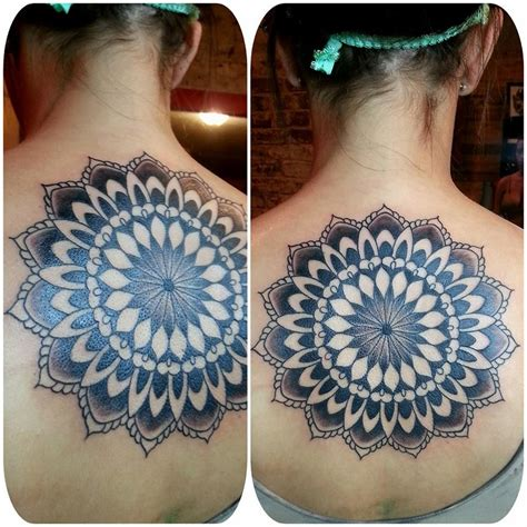 large tattoo designs large mandala back best design ideas