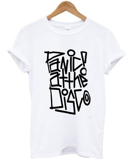 T Shirt Panic At The Disco Black panic at the disco t shirt