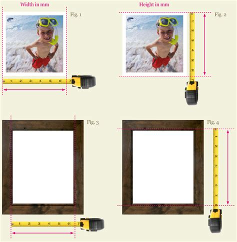 A Frame House by Measuring Your Art For A Picture Frame Or Mount