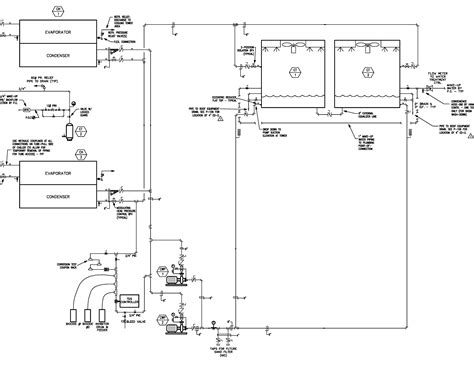 water pipe diagram water chiller piping schematic diagram water get free