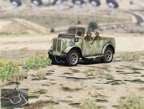 ww2 german jeep world war ii jeep gta5 mods com
