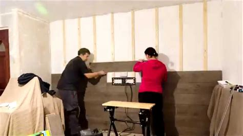 fitting laminate flooring to walls youtube