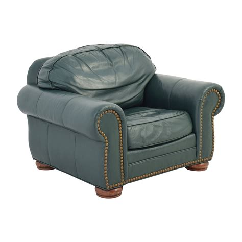 green leather chair 65 clayton clayton oversized green