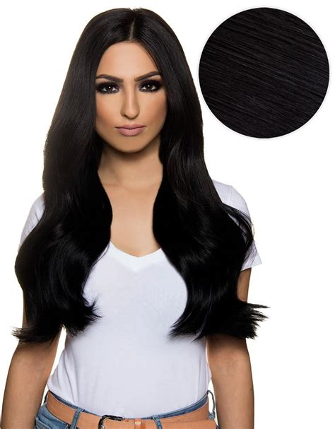 what color is closest to bellami 1c bambina 160g 20 jet black hair extensions 1 bellami